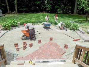 Eagle Rd Paver Lay