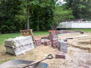Eagle Rd Wall Build